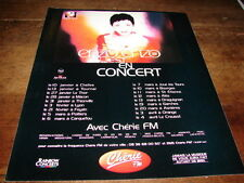ENZO ENZO - PUBLICITE DATES CONCERT AVEC CHERIE FM !!!!