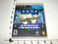 TV Superstars / Sony Playstation 3 (PS3) 2010 - New sealed - Reality TV spoof