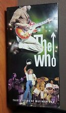 THE WHO Thirty Years of Maximum R&B    4 CD Box  SET WITH BOOK   LIKE NEW
