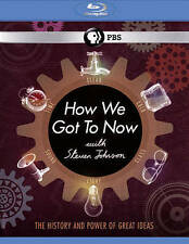 How We Got to Now With Steven Johnson [Blu-ray] New DVD! Ships Fast!