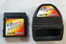 New Bright 4.8V NiCd Battery & Battery Charger for R/C Car Truck Quick Charge