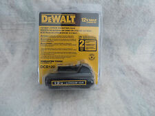 DEWALT DCB120 12-Volt Max Lithium Ion MAX* Battery Pack (NEW)