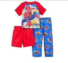 The Amazing Spiderman 2 Toddler Boys  3Pc Pajama Set  Size 3T
