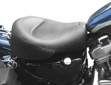 Mustang Wide Touring Vintage Solo Seat for 1996-2003 Harley Sportster XL