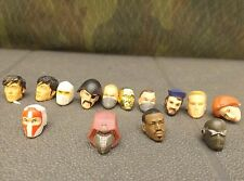 GI JOE ROC 25th anniversary Rise of Cobra custom fodder action figure head lot D