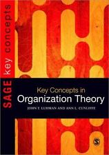 Key Concepts in Organization Theory SAGE Key Concepts series