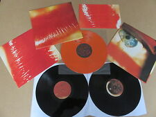 THE CURE Kiss Me Kiss Me Kiss Me 2x LP & RARE ORANGE VINYL 6 TRACK E.P. FIXHA13
