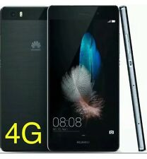 "Huawei P8 Lite Black - 4G LTE - Sim Free - 5"" Unlocked - 16GB (New Sealed) 13MP"