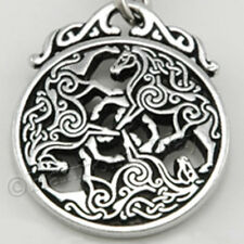 EPONA Pendant 3 CELTIC HORSE Equine Jewelry Goddess Necklace