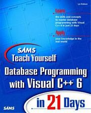 Sams Teach Yourself Database Programming with Visual C++ 6 in 21 Days