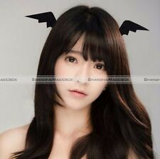 1Pairs Demon Ears Devil Wings Bat Hair Clip Hairs Accessories Girls Halloween S1