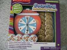 Scholastic Counting Matching Game ~ Grades K to 1
