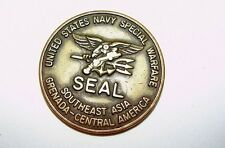 US Navy Special Warfare SEAL UDT Underwater Demolition Team Challenge Coin
