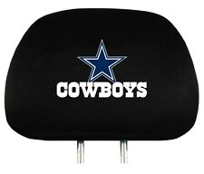 Dallas Cowboys Auto Head Rest Covers 2 Pack [NEW] NFL Car Seat Headrest CDG