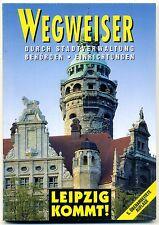 Leipzig Behördenwegweiser 5. Auflage 1996/1997 TOP + RAR + Selten!