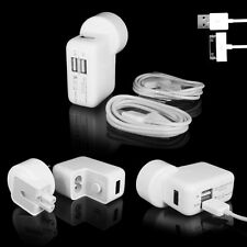 Dual USB Wall Charger Power Adapter for Apple iPhone 4s 5 5s 6 6 plus iPad