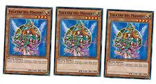 3 x Valkyre Des Magiers LDK2-DEY17 , 1. Auflage, Common, Boosterfrisch