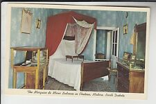Bedroom in Chrome Chateau of Marquis de Mores Medora ND