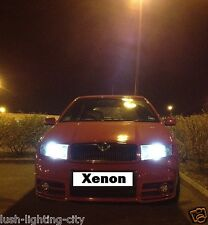 Skoda Fabia VRS H7 6000k - 8000K Xenon HID Conversion Headlight Kit ✔