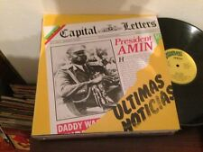 "CAPITAL LETTERS - SPANISH 12"" LP SPAIN REGGAE - ULTIMAS NOTICIAS - HEADLINE NEWS"