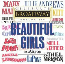 Celebrate Broadway, Vol. 6: Beautiful Girls by Various Artists (CD)