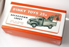 DINKY Reproduction Box 25x Breakdown Lorry - Commer Chassis 430