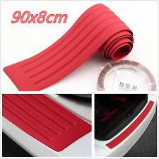 "35.8"" Red Autos Off-Road Rear Bumper Guard Protector Trim Cover Anti-Scratch Pad"