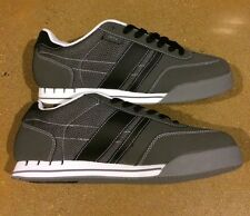 DVS Milan Size 13 Grey Nubuck BMX DC Skate Running Shoes Sneakers Deadstock