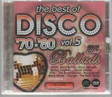 THE BEST OF DISCO '70 '80 VOL. 5 CD DVD F.C. SIGILLATO!!!