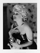 black and white marilyn monroe photo art quality print chanel no5 picture 60x80