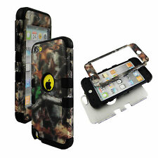 Camo TrunkV  Hybrid 3 in 1 Apple  Ipod Touch 5 Case Hard Cover Faceplate