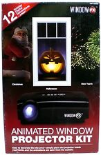 Window FX Projector Animated Window Display Kit Christmas Halloween New Years