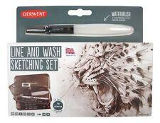 Derwent Line And Wash Sketching Set