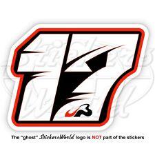 """JULES BIANCHI 17 Schwarz Formel 1 Fahrer F1 100mm (4"""") Vinyl Sticker, Aufkleber"""