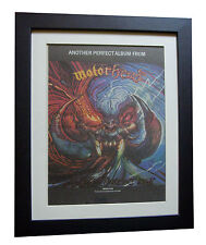 MOTORHEAD+Another Perfect Day+POSTER+AD+ORIGINAL 1983+FRAMED+EXPRESS GLOBAL SHIP