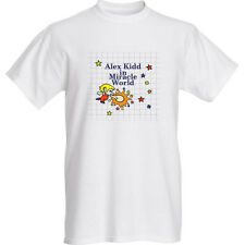 NEW Alex Kidd in Miracle World - White T-shirt: Large