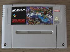 JEU SUPER NINTENDO SNES   TURTLES IV TURTLES IN TIME