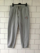 MENS URBAN VINTAGE GREY CONVERSE ALL STAR TRACKSUIT BOTTOMS JOGGERS SWEATPANTS