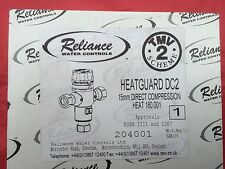Reliance Water Controls Heatguard DC2 15MM TMV2 Mitigeur Thermostatique