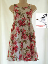 Girls Dress Next Floral Pattern Age 9 Height 134cm Lined