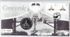 2009 British Concorde First Flight 40th Anniversary Coin First Day Cover