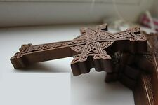 Free Shipping! Wooden Carved Cross alder wood. Orthodox.