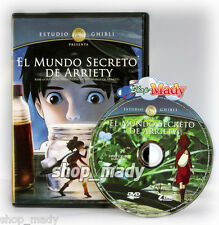 The Secret World of Arriety - El Mundo Secreto de Arriety DVD en Español Latino