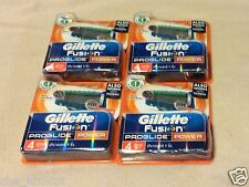 Gillette Fusion PROGLIDE POWER 4 Packs of 4 Cartridges (16 Razor Blades)RRP$90