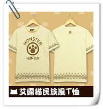 怪物猎人 MONSTER HUNTER cotton T-shirt