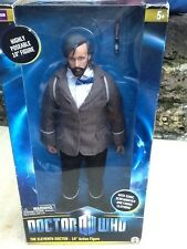 "NIB Dr. Doctor Who 11th doctor 10"" action figure hard to find beard variant"
