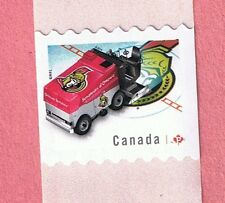 2014 CANADA  NHL OTTAWA SENATORS PERMANENT ICE SURFACE CLEANER STAMP CANADIAN