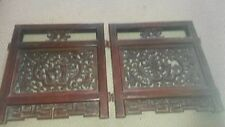 Chinese / Asian Carved Timber Wall Panels
