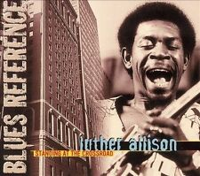 Standing at the Crossroad [Digipak] by Luther Allison - Black and Blue CD