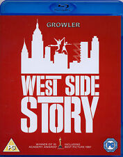 WEST SIDE STORY - FILM MUSICAL BLU-RAY - NATALIE WOOD SONG DANCE NEW YORK MOVIE